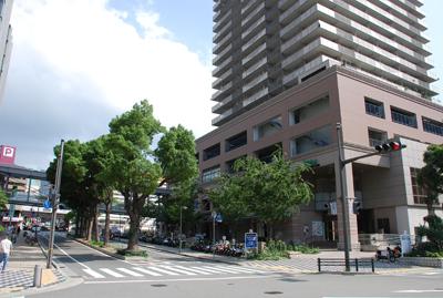 JR六甲道周辺の景色